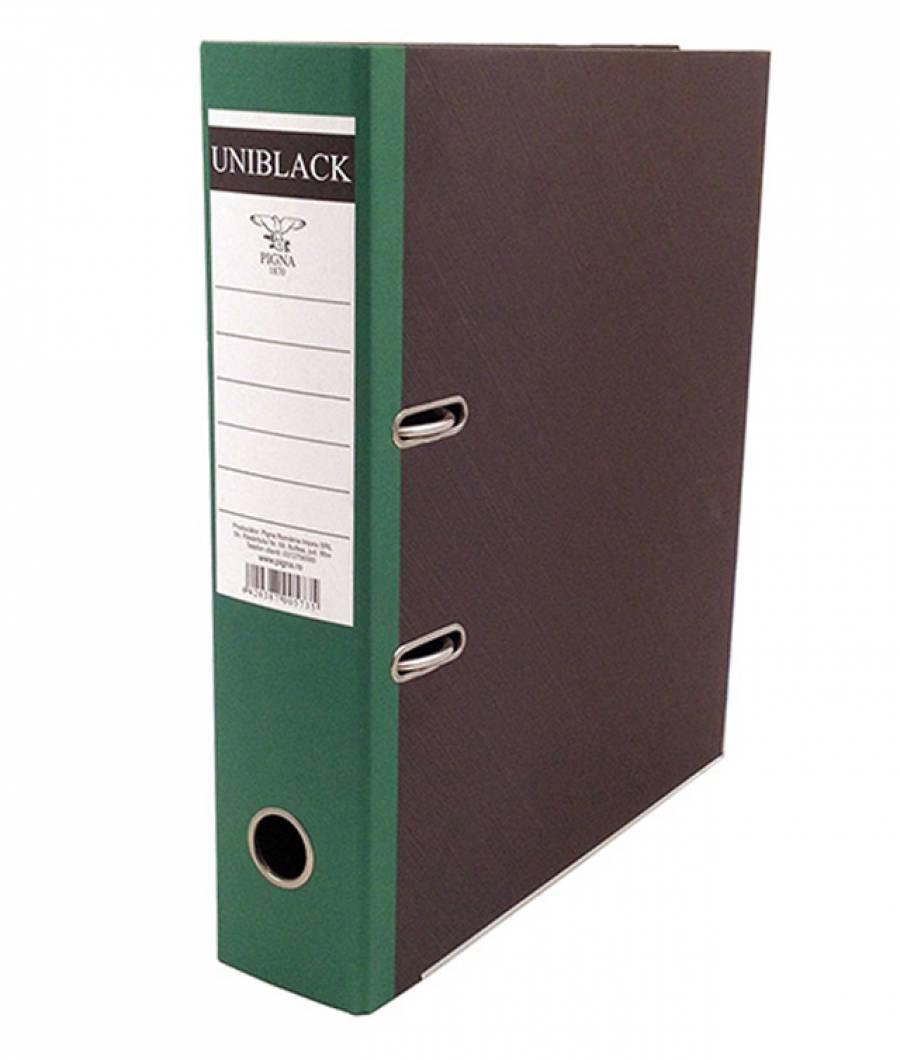 Biblioraft UNIBLACK 7,5 cm verde