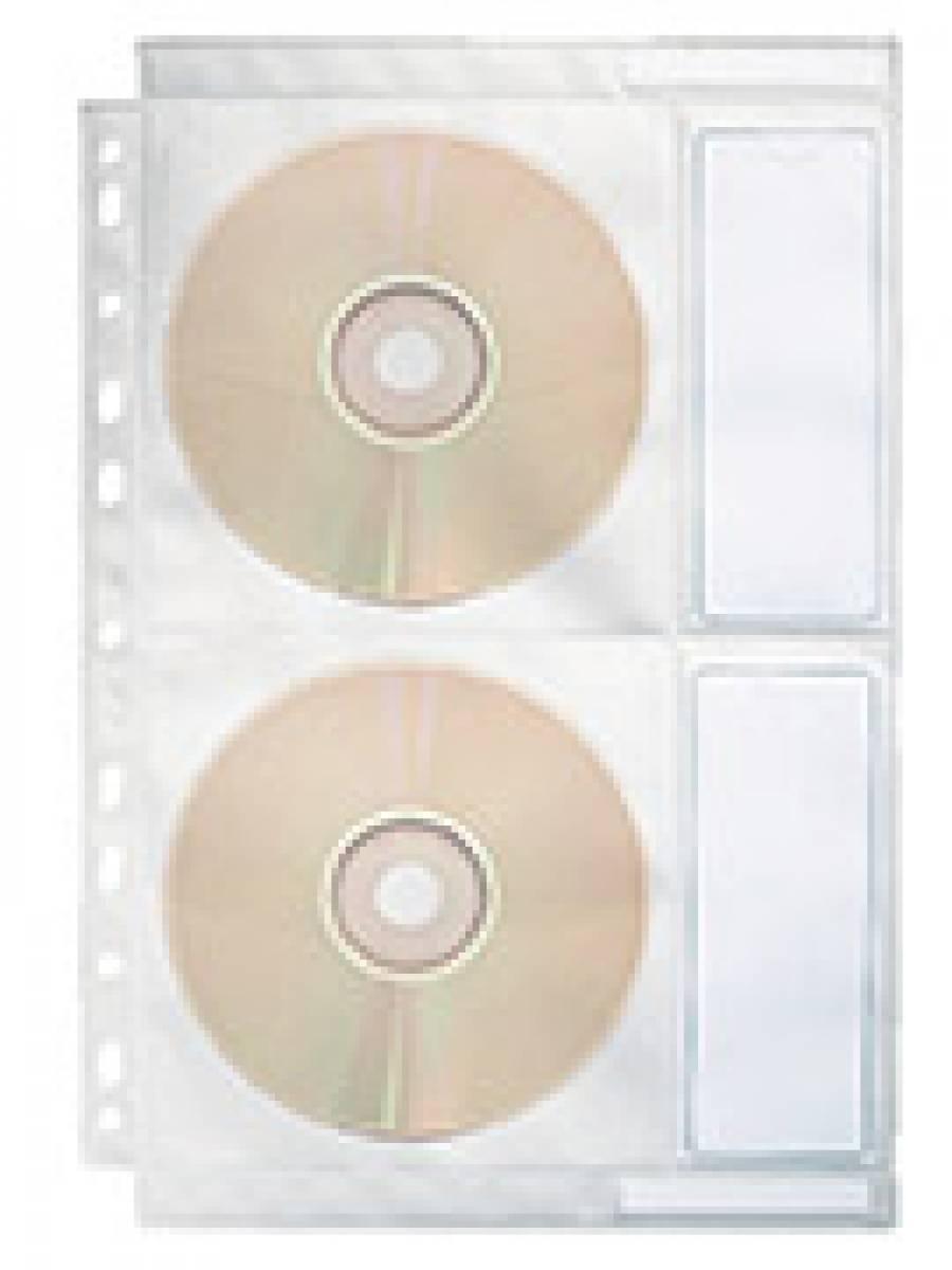 Folie Protectie A4 Pentru CD 4/Coala Esselte