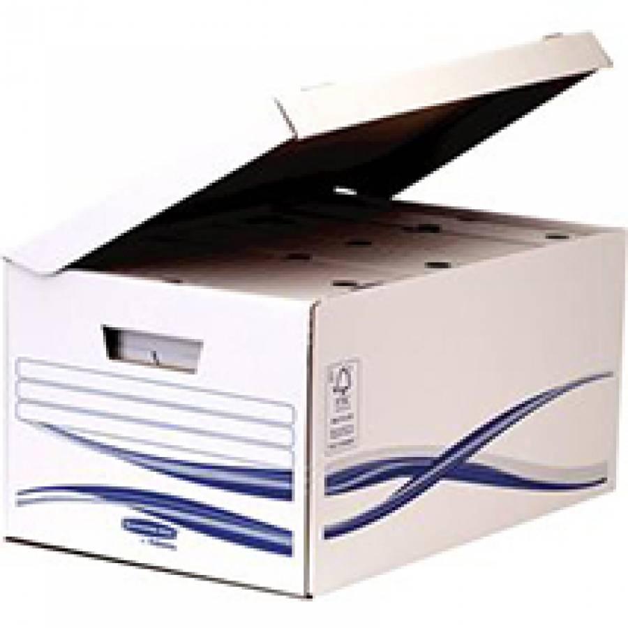 Container Arhivare Cu Capac Bankers Box Fellowes