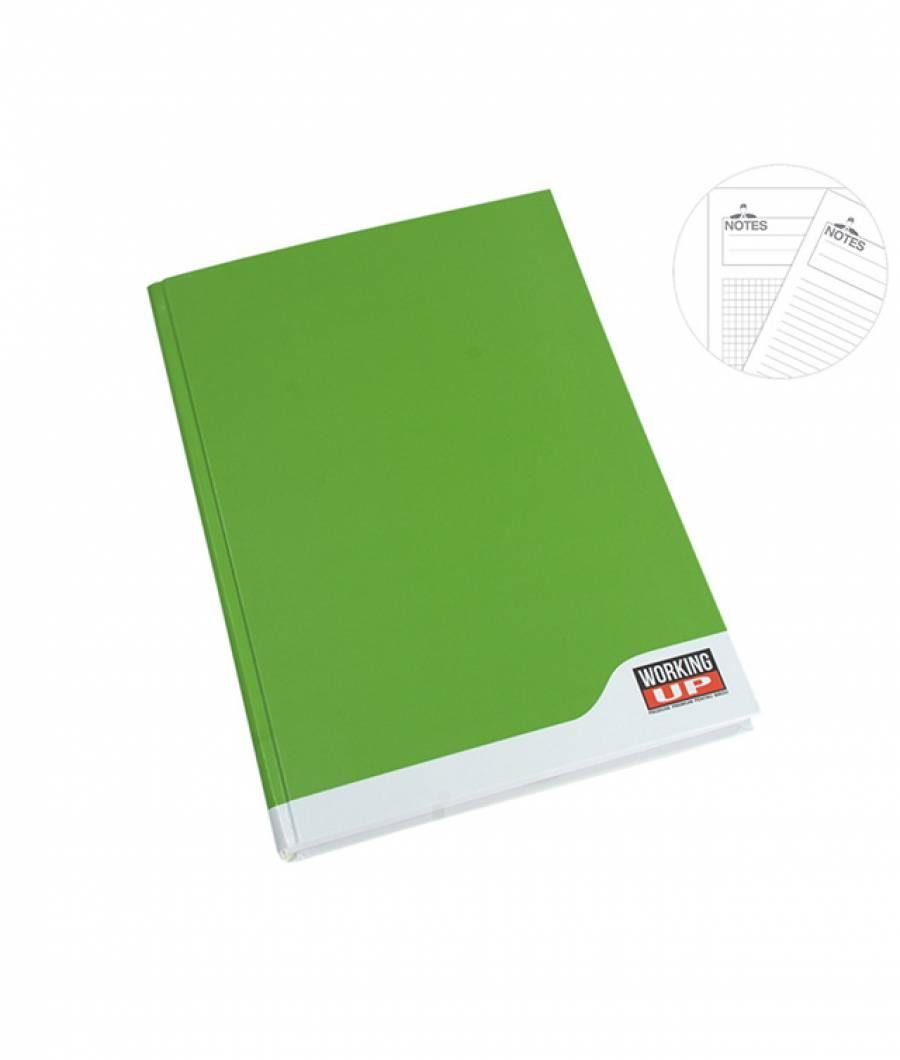 Registru A4 96file, matematica, 60g WorkingUp verde