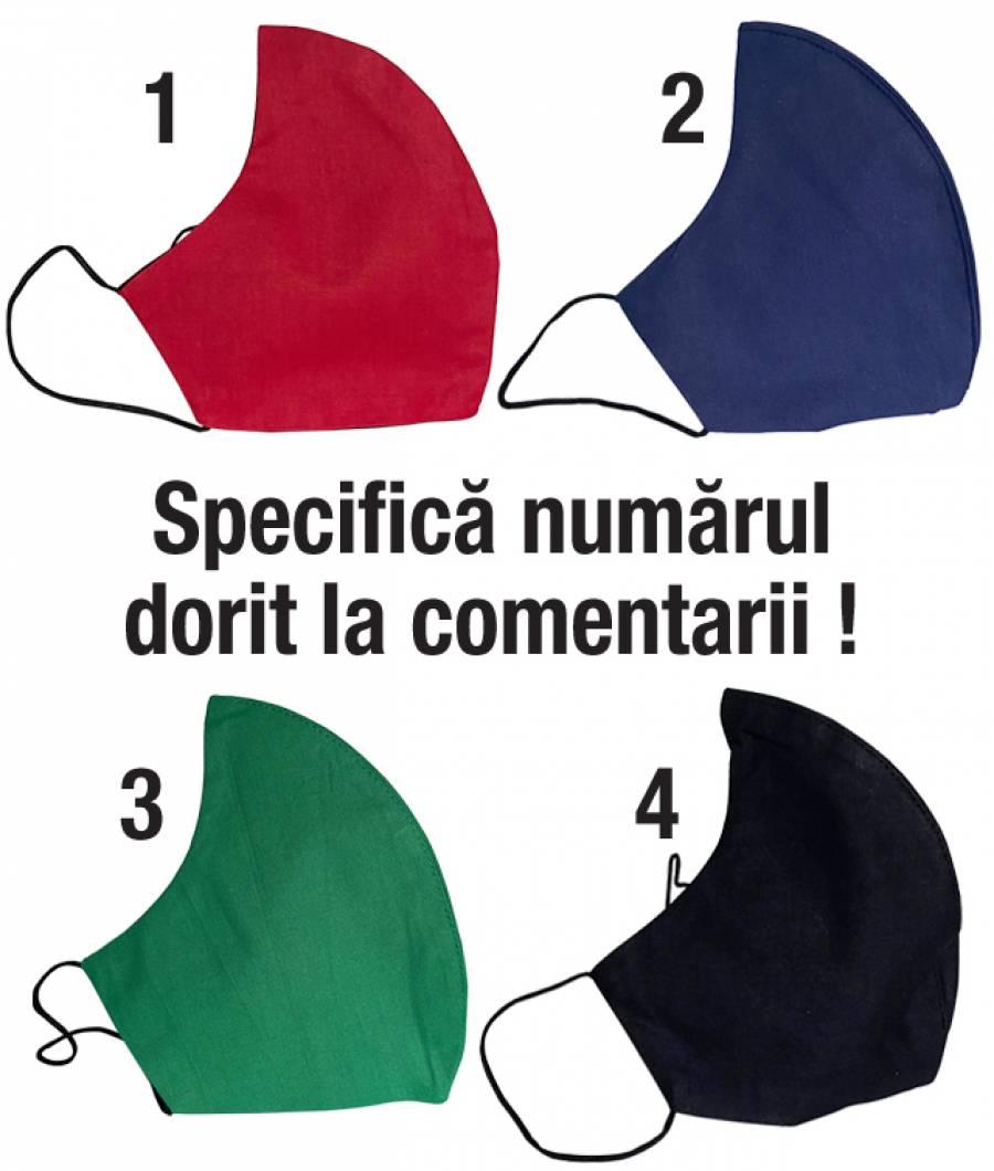 Masca protectie din material textil ptr copii UNI
